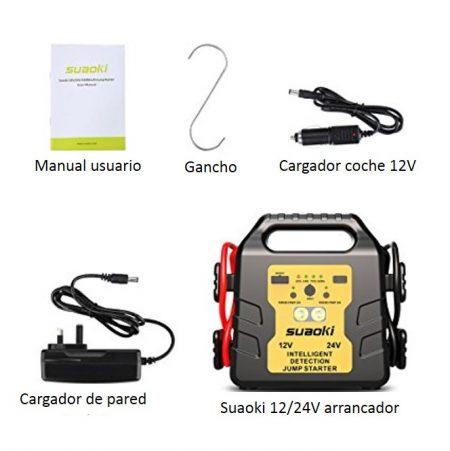 arrancador bateria 24 voltios