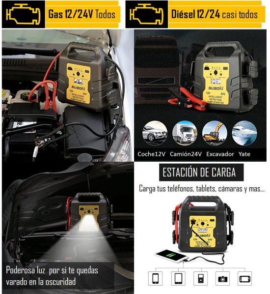 arrancador bateria motor diesel