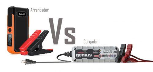 cargador de bateria vs arrancador