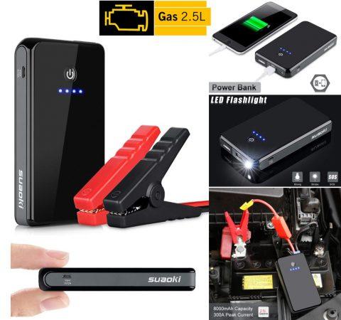 Mejor Arrancador de Baterías Portátil