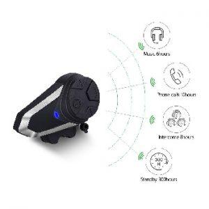 Interc Moto Headset