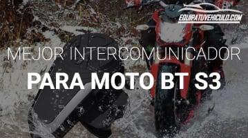 Intercomunicador para Moto BT S3