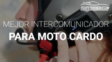 Intercomunicador para Moto Cardo