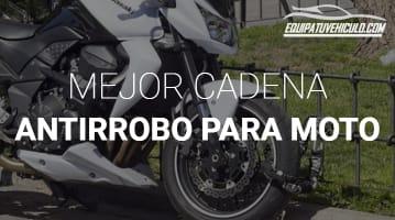 Cadena Antirrobo para Moto