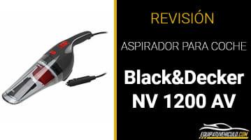 Aspirador de Coche Black & Decker NV 1200 AV