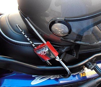 donde comprar antirrobo para casco