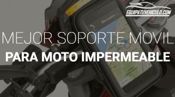 Soporte de Móvil para Moto Impermeable