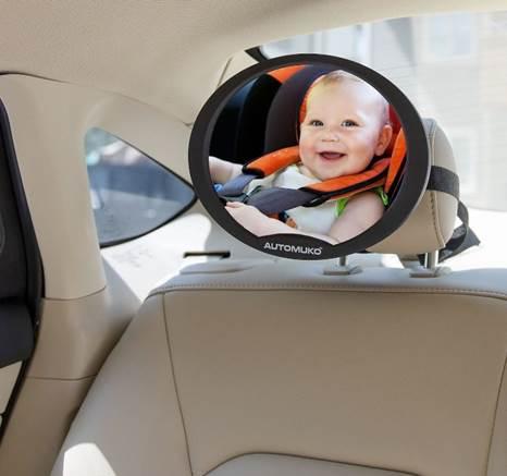 Qué debo tomar en cuenta para Comprar un Espejo de Bebé para Coche