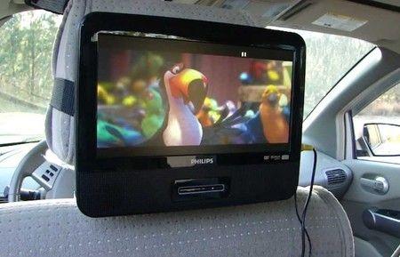 dvd player para coche