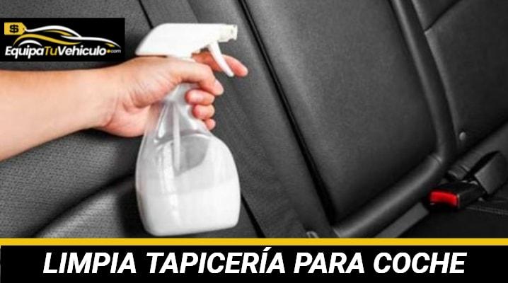 Limpia Tapicería para Coche