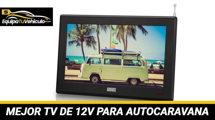 TV de 12V para Autocaravana