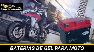 Baterías de Gel para Moto