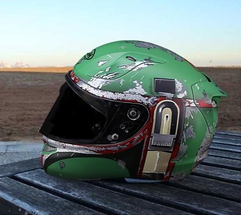 Casco para Moto Boba Fett - Opiniones