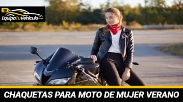 Chaquetas para Moto de Mujer Verano