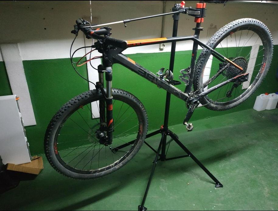 caballete para bicicleta cuál comprar