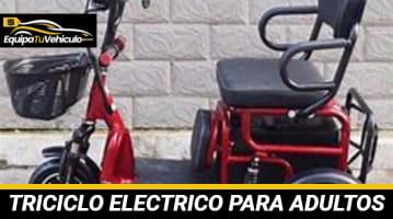 Triciclo Eléctrico para Adultos