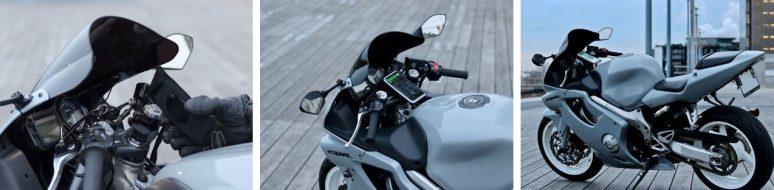 soporte movil moto semi manillar
