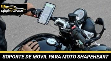 Soporte Móvil Magnético para Moto Shapeheart